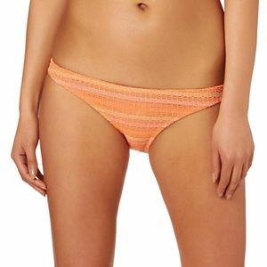 Volcom Wildly Bare Full Bikini Bottom Size XS